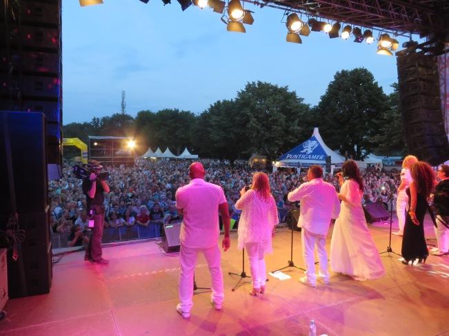The Les Humphries Singers auf dem Donauinselfest